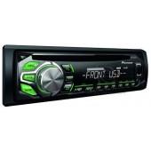 DEH-1600UBG STEREO AUTO PIONEER SINTO CD USB AUX IILUMINAZIONE VERDE