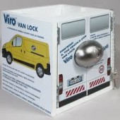4222 VIRO VAN LOCK LUCCHETTO SINGOLO SICUREZZA FISSAGGIO X FURGONI CAMION VIRO VAN LOCK